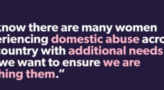 Refuge launches critical accessibility features on its National Domestic Abuse Helpline Website